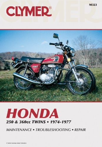 9780892872107: Clymer Honda 250 & 360CC Twins, 1974-1977: Service, Repair, Performance