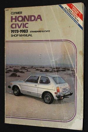 9780892872169: Honda Civic: 1973-1983 Standard and Cvcc Shop Manual
