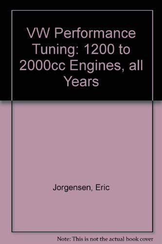 9780892872237: VW Performance Tuning: 1200 to 2000cc Engines, all Years