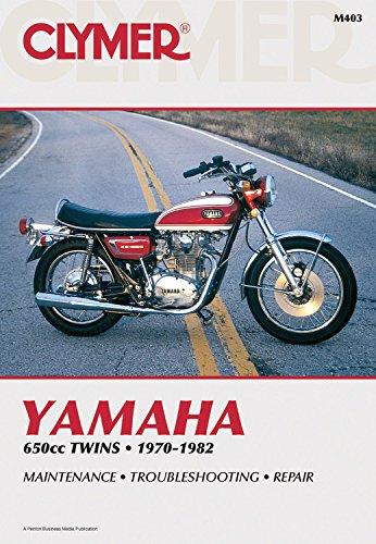 9780892872336: Clymer Yamaha 650cc Twins 70-82: Service, Repair, Maintenance