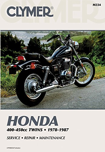 9780892872343: Clymer Honda 400-450cc Twins 1978-1987: Service Repair Maintenance