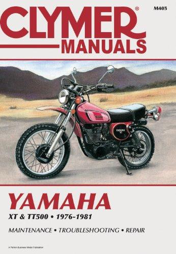 9780892872404: Yamaha XT & Tt500 Singles 1976-1981: Service-Repair-Performance