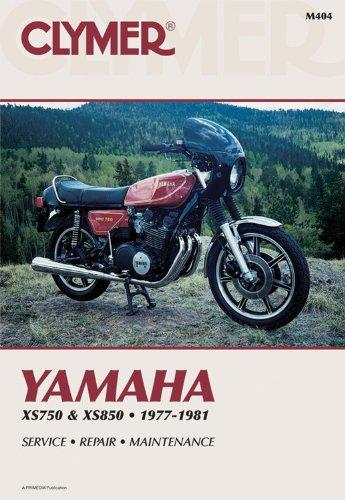 9780892872435: Yamaha XS750 and 850 Triples, 1977-1981: Service, Repair, Maintenance