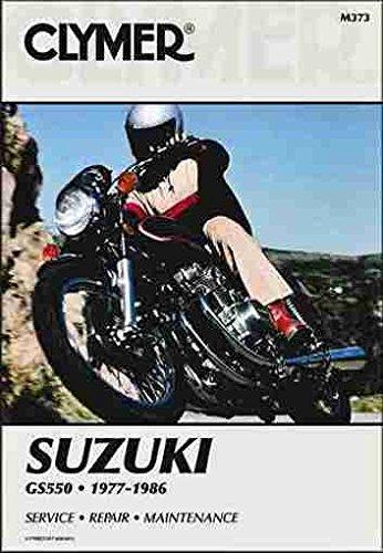 9780892872732: Clymer Manuals Suzuki GS550 1977-1986