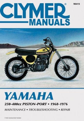 Yamaha 250-400cc Pstn-Port 68-76 (Clymer motorcycle repair series): Penton Staff
