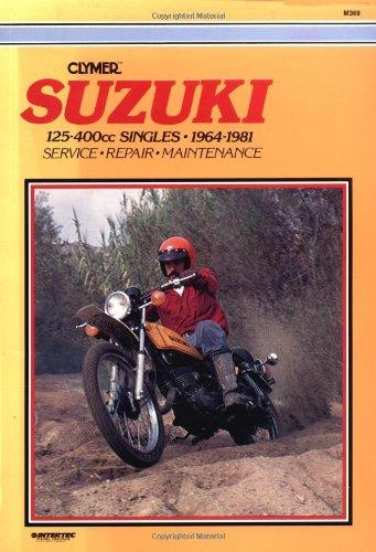 9780892872800: Suzuki 125-400cc Singles 64-81 (M369)