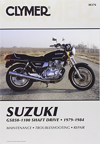 9780892873050: Suzuki Gs850-1100 Shaft Drive 1979-1984: Service, Repair and Maintenance