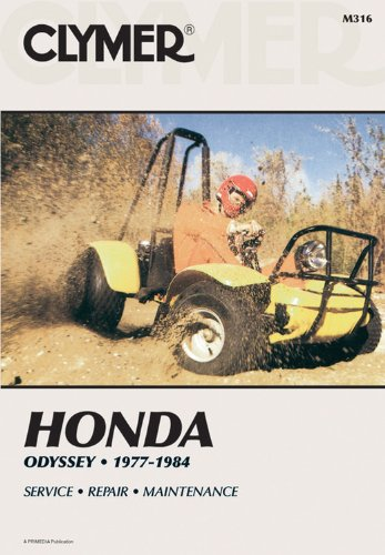 9780892873081: Honda Odyssey, 1977-1984: Service, Repair, Maintenance