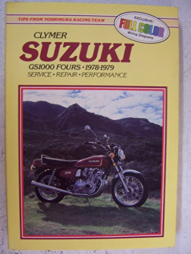 Suzuki, GS1000 fours, 1978-1979: Service, repair, performance: Sales, David