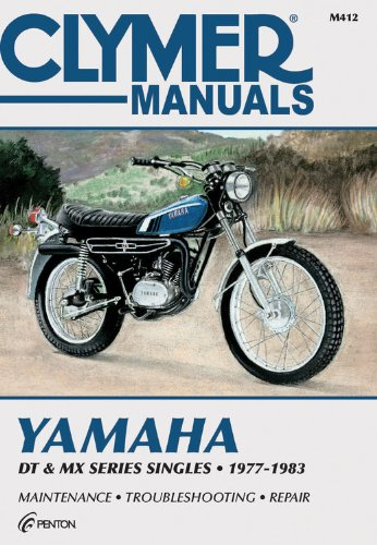 9780892873319: Yam Dt & Mx Series Sngls 77-83: Clymer Workshop Manual (M412)