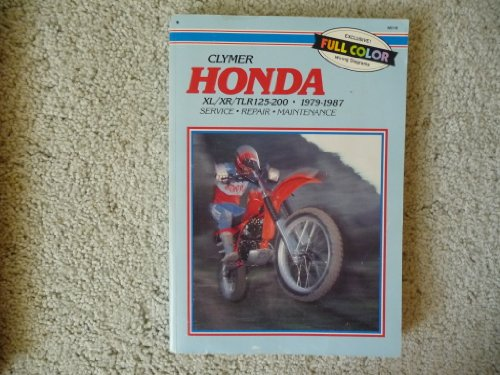 9780892873555: Honda XL/XR/TLR 125-200, 1979-87: Clymer Workshop Manual