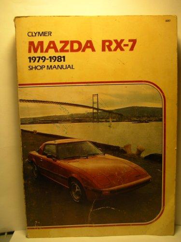 Mazda Rx-7, 1979-1985: Shop Manual: Combs, Jim
