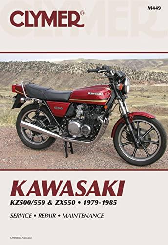 9780892873630: Kawasaki KZ500/550 & ZX550 79-85