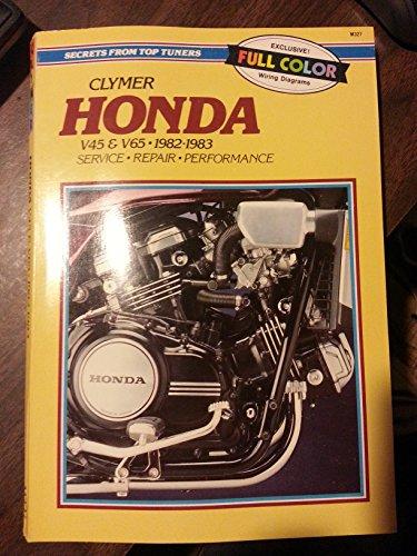 9780892873845: Honda: 700-1100cc V4 and V6, 1982-1987 (Service, Repair, Maintenance)