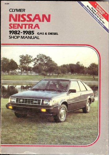 Nissan Sentra/Pulsar, 1982-1986: Includes Pulsar Turbo/Shop Manual: Ahlstrand, Alan (ed.)