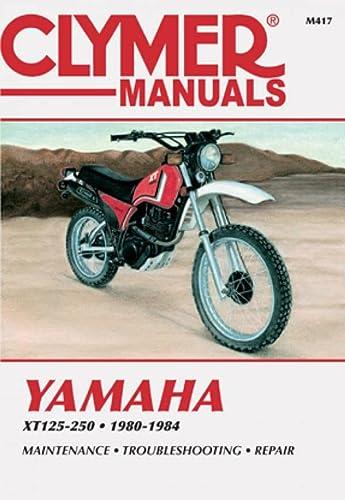 9780892873876: Clymer Yamaha XT125-250 80-84: Service, Repair, Maintenance (Clymer motorcycle repair series)