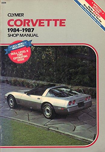 9780892874071: Corvette, 1984-1987: Shop manual