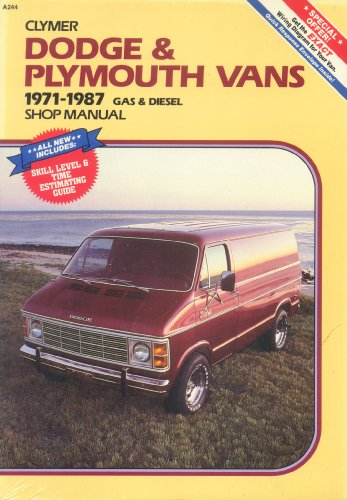 Dodge and Plymouth Caravan Mini Ram Van Voyager 1984 1987 Shop Manual (0892874112) by Kalton C. Lahue
