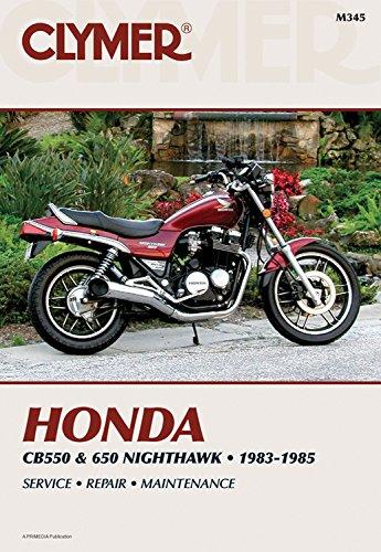 9780892874200: Honda Cb550 and 650 Nighthawk 1983 1985