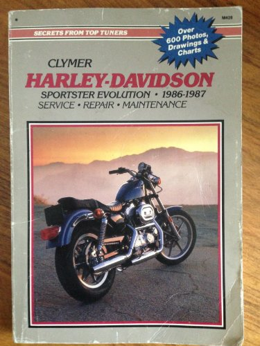 9780892874392: Harley-Davidson: Sportster Evolution, 1986-1987 : Service, Repair, Maintenance