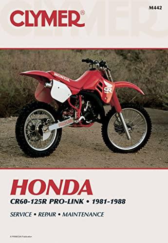 9780892874637: Honda CR60-125R Pro-Link 81-88 (Clymer motorcycle repair series)