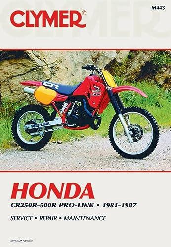 9780892874644: Honda CR250-500R Pro-Link 81-87 (Clymer Workshop Manual)