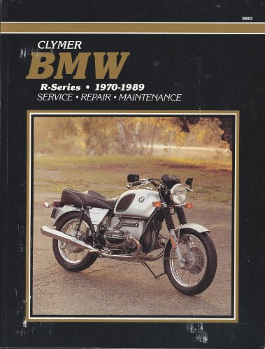 9780892874804: Clymer BMW R-Series, 1970-1989 Service - Repair - Maintenance ( Motorcycle )