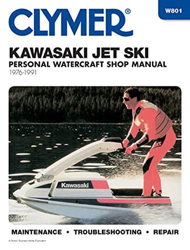 Kawasaki jet ski shop manual, 1976-1988 (Clymer: Ron Wright