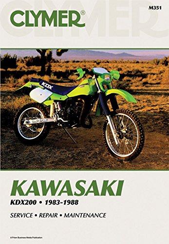 9780892875146: Kawasaki KDX200, 1983-1988: Service, Repair, Maintenance