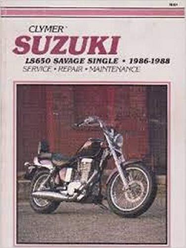 9780892875177: Suzuki Ls650 Savage Single, 1986-1988 (Clymer Motorcycle Repair Series)