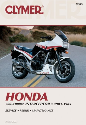 9780892875191: Honda 700-1000cc Intrceptr 83-85 (Clymer Manuals: Motorcycle Repair)