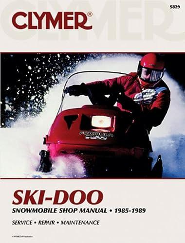 Clymer Ski-Doo Snowmobile 1985-1989: Service, Repair, Maintenance (Paperback): Randy Stephens