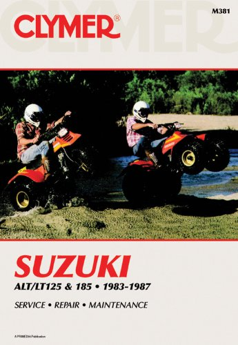 9780892875238: Suzuki Alt/LT125 & 185 83-87 (Clymer Manuals: Motorcycle Repair)