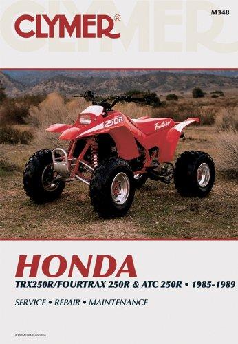 9780892875405: Honda Trx 4Trx & ATC 250R 85-89 (Clymer Motorcycle Repair Series)