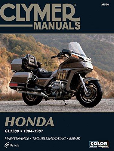 Clymer Honda Gl1200 84-87: Service, Repair, Maintenance (Paperback): Ed Scott