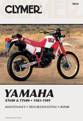 9780892875467: Yam Xt600 & Tt60 83-89: Clymer Workshop Manual (Clymer Manuals: Motorcycle Repair)