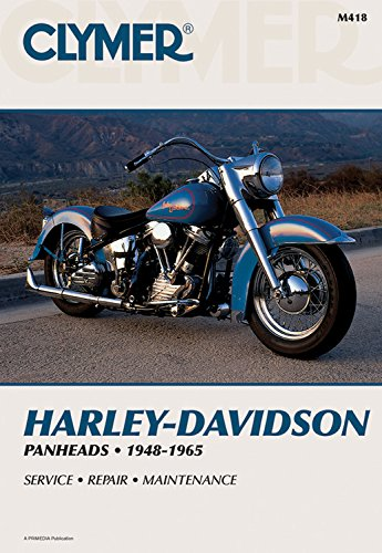 Harley-Davidson Panheads 1948-1965: Service, Repair, Maintenance: Haynes Manuals, Inc.