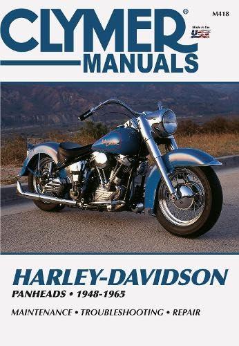 Harley-Davidson Panheads 1948-1965: Service, Repair, Maintenance (Clymer: Penton Staff