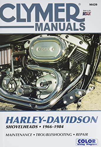 Clymer Harley-Davidson Shovelheads 1966-1984: Service, Repair, Maintenance: Wright, Ron