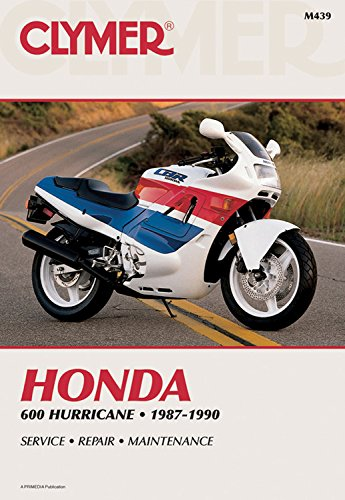 Honda 600 Hurricane, 1987-1990: Inc. Haynes Manuals