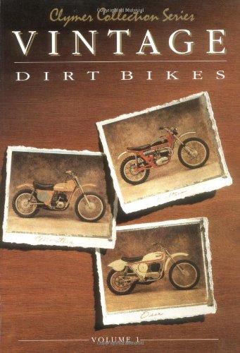 9780892875733: Vintage Dirt Bikes: Motorcycle Shop Manuals: Bultaco, Ossa, Montesa Workshop Manual (Clymer Coll)