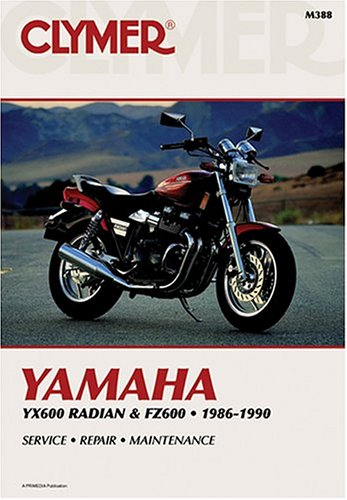 9780892875771: Yamaha YX600 Radian and FZ600, 1986-1990: Clymer Workshop Manual