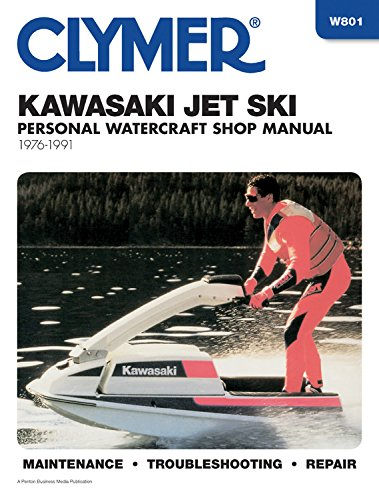 9780892875825: Clymer Kawasaki Jet Ski, 1976-1991: Clymer Workshop Manual (Clymer Personal Watercraft)