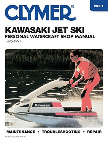 Kawasaki Jet Ski Shop Manual, 1976 -