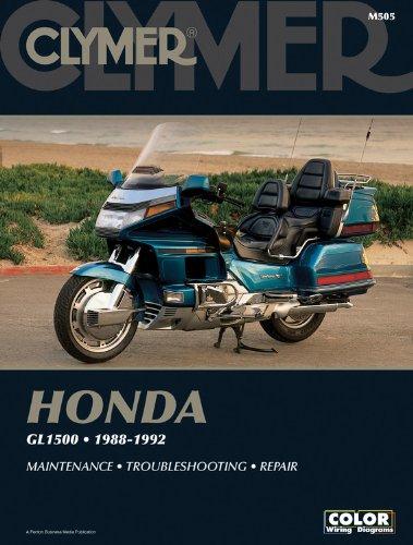 Honda Gl1500 88-92 (Paperback): Robert Mills
