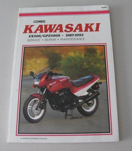 Clymer Kawasaki Ex500 Gpz500s (1987-1993): Harter, David