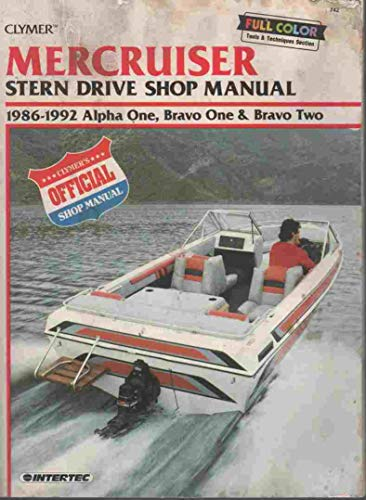 9780892875986: Mercruiser: Stern Drive Shop Manual : 1986-1992 Alpha One, Bravo One & Bravo Two