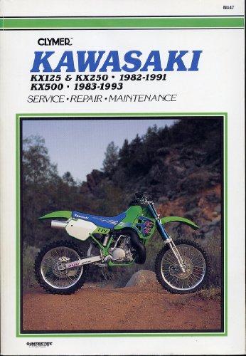 9780892875993: Clymer Kawasaki Kx125 & Kx250 1982-1991; Kx500 1983-1993