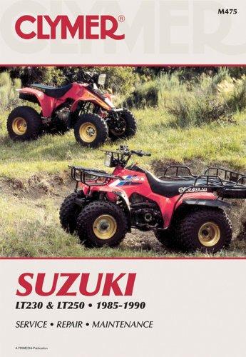 9780892876082: Clymer Suzuki Lt230 & Lt250 1985-1990