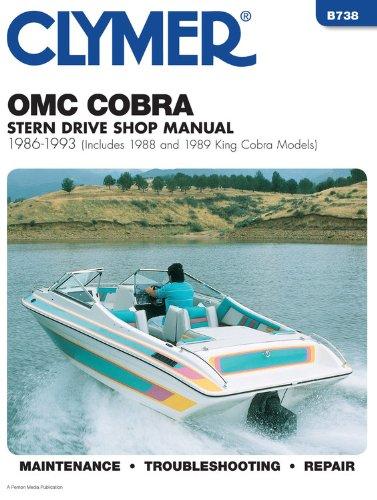 9780892876105: Clymer Omc Cobra Stern Drive Shop Manual 1986-1993: Includes 1988 and 1989 King Cobra Models